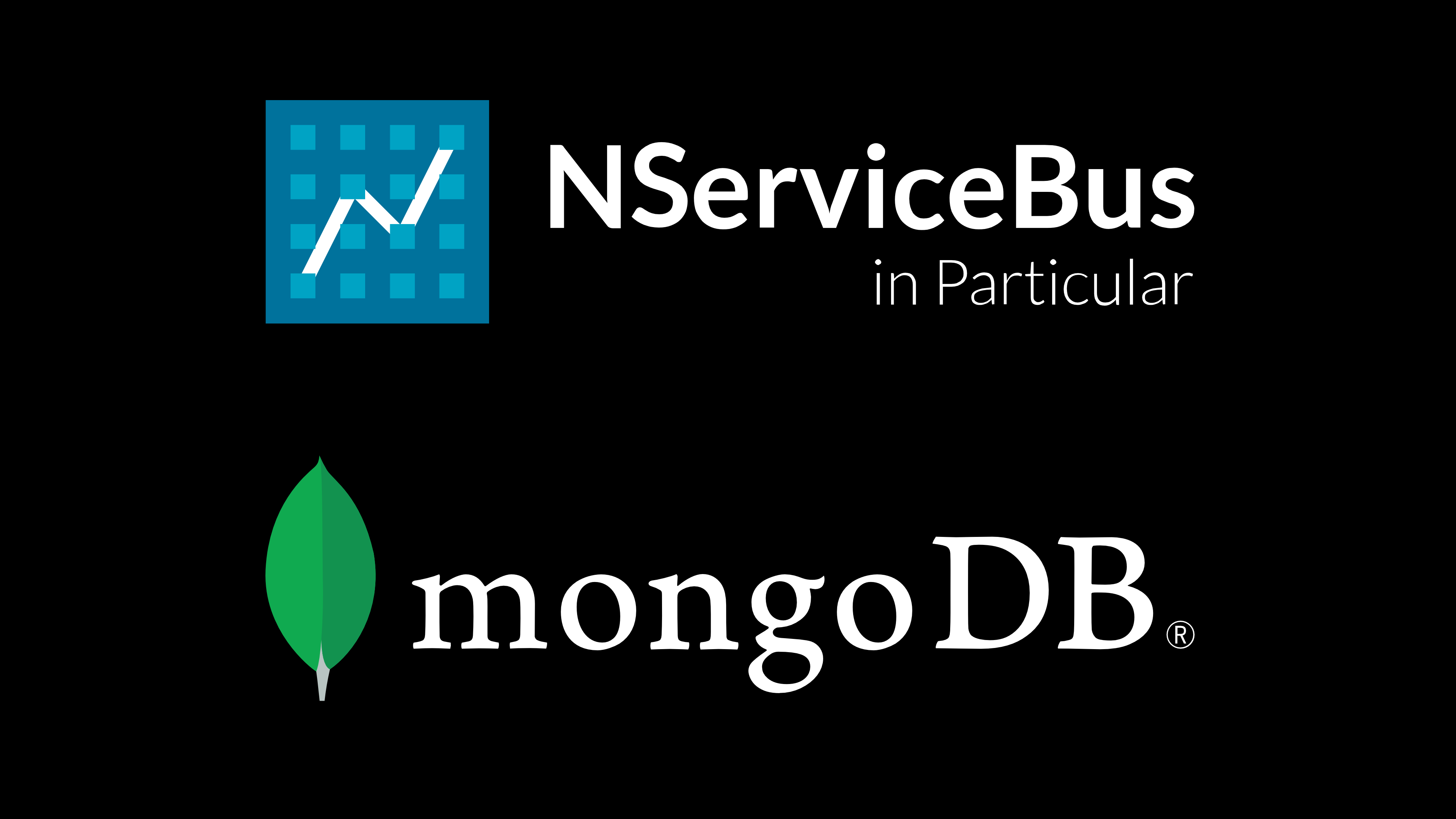 NServiceBus and MongoDB
