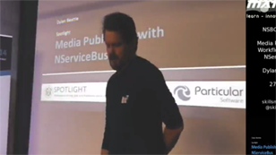 Media publishing workflows using NServiceBus